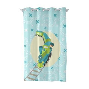 Draperie pentru copii Happynois Train Curtain, 180x135cm bonami.ro