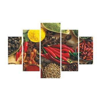 Tablou din 5 piese Pepper bonami.ro