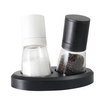 Set râșniță pentru sare și piper Vialli Design Black&White bonami.ro