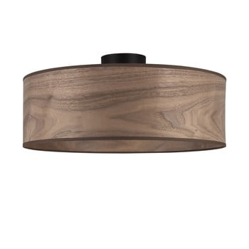 Plafonieră cu abajur din lemn de nuc Sotto Luce TSURI XL imagine