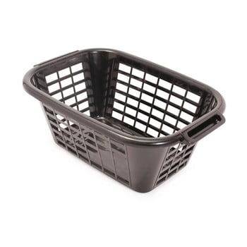 Coș de rufe Addis Rect Laundry Basket, 40 l, negru bonami.ro