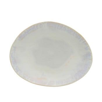 Farfurie ovală din gresie ceramică Costa Nova Brisa, alb bonami.ro