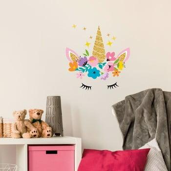 Set autocolante pentru perete Ambiance Magic Unicorn poza bonami.ro