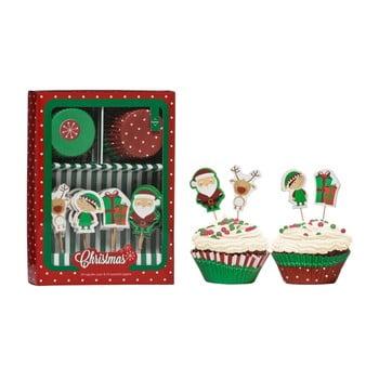 Set accesorii prăjituri Premier Housewares Christmas Cupcake poza bonami.ro