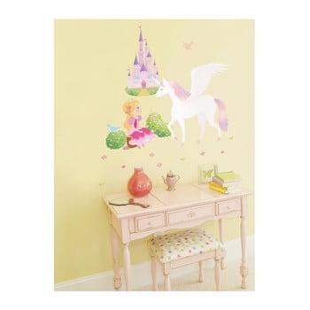 Set autocolante Ambiance Princess, Unicorn and Castle bonami.ro