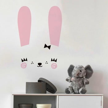 Set autocolante pentru perete Ambiance Cute Bunny poza bonami.ro
