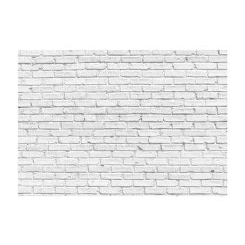 Tapet format mare Bimago Stone, 400 x 280 cm, alb poza bonami.ro