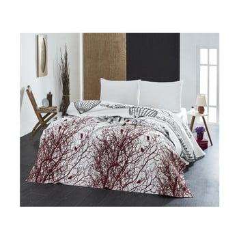 Cuvertură subțire de pat White Double, 200 x 235 cm bonami.ro