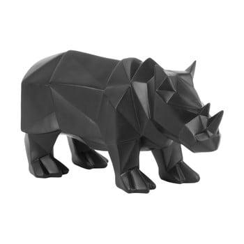Statuetă PT LIVING Origami Rhino, negru mat bonami.ro
