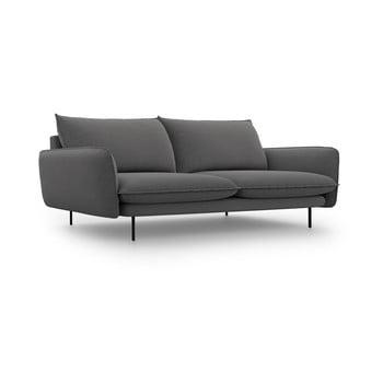 Canapea Cosmopolitan Design Vienna,230 cm, gri închis imagine