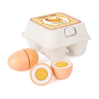 Ouă din lemn pentru copii Legler Eggs bonami.ro