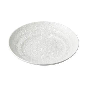 Bol servire din ceramică MIJ Star, ø29 cm, alb poza bonami.ro
