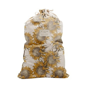 Sac textil pentru haine Linen Couture Bag Sunflower, înălțime 75 cm bonami.ro