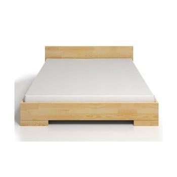 Pat dublu din lemn de pin, cu spațiu de depozitare, SKANDICA Spectrum, 200 x 200 cm poza bonami.ro