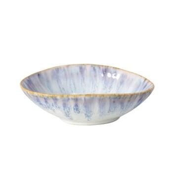 Bol din gresie ceramică Costa Nova Brisa,⌀ 15cm, alb - albastru poza bonami.ro