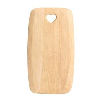 Tocător din lemn de arbore de cauciuc T&G Woodware Colonial Home, 27,5 x 15 cm bonami.ro