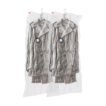 Set 2 saci cu vid de agățat pentru haine Compactor Espace,70 x 145 cm bonami.ro