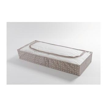 Cutie mică pentru depozitare Compactor Dots, 46 x 107 cm, bej bonami.ro
