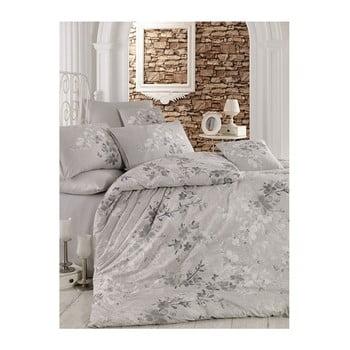 Lenjerie de pat cu cearșaf Matti, 200 x 220 cm bonami.ro