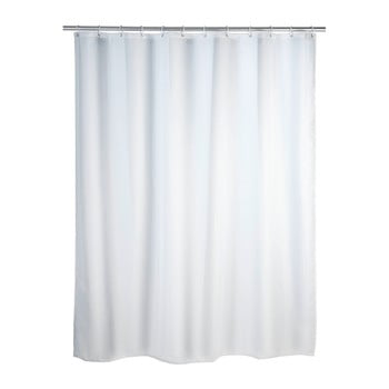 Perdea duș anti mucegai Wenko, 180x200cm, alb bonami.ro