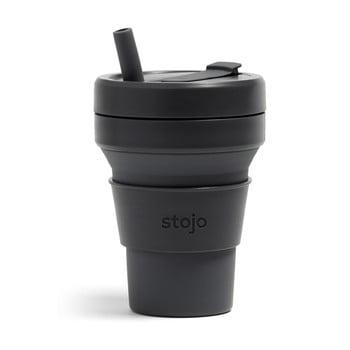Cană pliabilă Stojo Titan Carbon, 710 ml, negru bonami.ro