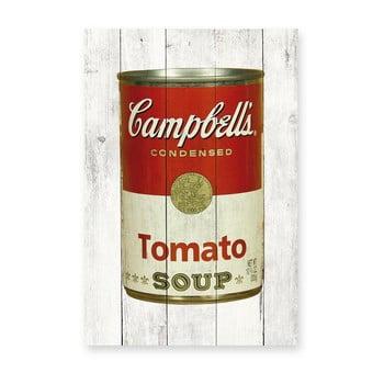 Tablou de perete din lemn de pin Really Nice Things Tomato Soup, 40 x 60 cm bonami.ro