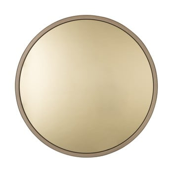 Oglindă Zuiver Bandit, ⌀ 60 cm, auriu imagine
