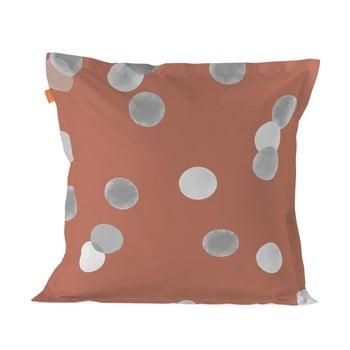 Față de pernă din bumbac Blanc Shine Confetti, 60x60cm bonami.ro