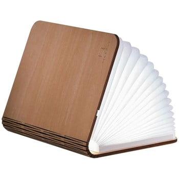 Veioză de birou din lemn de arțar cu LED Gingko Booklight Large, maro deschis bonami.ro