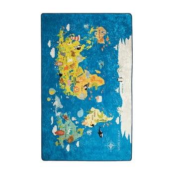 Covor copii World Map, 200 x 290 cm imagine