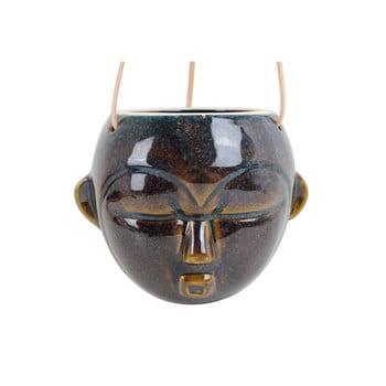 Ghiveci suspendat PT LIVING Mask, înălțime 15,2 cm, maro închis bonami.ro
