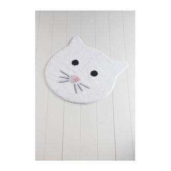 Covor de baie Cat, ⌀ 90 cm, alb bonami.ro