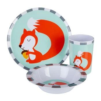 Set veselă pentru copii Premier Housewares Mimo Susie Squirrel, 3 piese bonami.ro