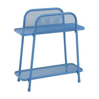 Masă auxiliară metalică pentru balcon ADDU MWH, înălțime 70 cm, albastru poza bonami.ro