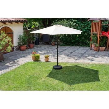 Umbrelă de soare de grădină Timpana Parasol, maro cappucino bonami.ro