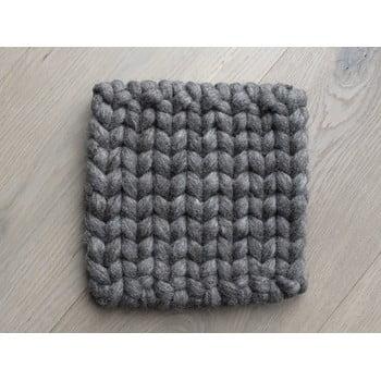 Suport țesut din lână pentru pahar/veselă Wooldot Braider Coaster, 20 x 20 cm, maro nucă bonami.ro