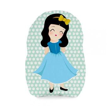 Pernă din bumbac Mr. Fox Snow White, 40 x 30 cm poza bonami.ro