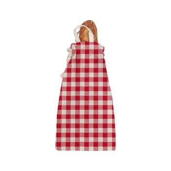 Sacoșă textilă pentru pâine Linen Couture Linen Bread Bag Red Vichy bonami.ro