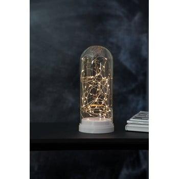Decorațiune luminoasă cu LED Best Season Glass Dome, înălțime 25 cm, alb bonami.ro