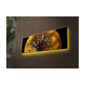 Tablou cu LED Ledda Night, 90 x 30 cm bonami.ro