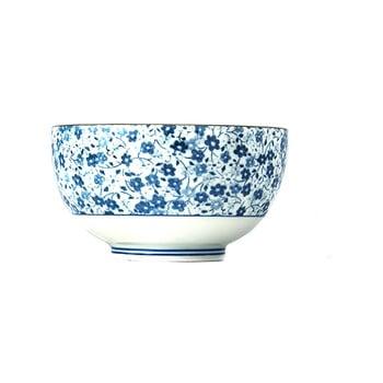 Bol din ceramică MIJ Daisy, ø13cm, alb - albastru bonami.ro