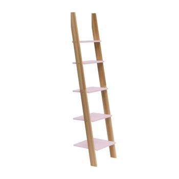 Raft în formă de scară Ragaba ASHME, lățime 45 cm, roz deschis bonami.ro