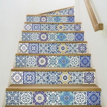 Set 2 autocolante pentru scări Ambiance Romina, 15 x 105 cm bonami.ro