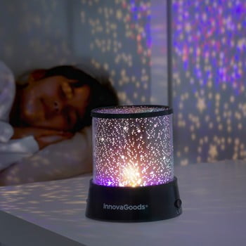 Proiector lumină LED-uri InnovaGoods poza bonami.ro