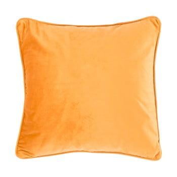 Pernă Tiseco Home Studio Velvety, 45x45cm, portocaliu deschis poza bonami.ro