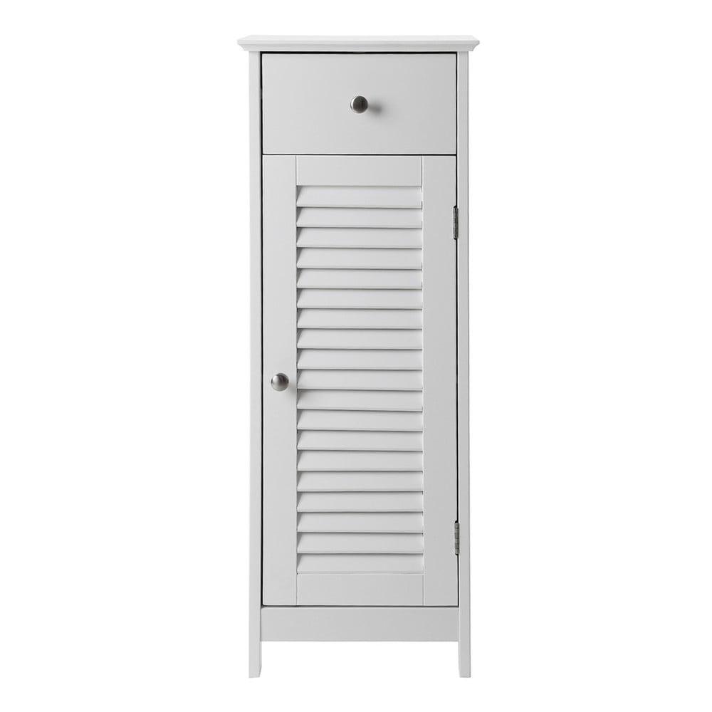 Poza Dulap de baie cu sertar Songmics, inaltime 89 cm, alb