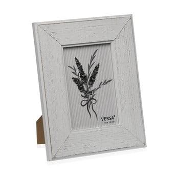 Ramă foto din lemn pentru fotografie Versa Madera Blanco, 10x15cm bonami.ro