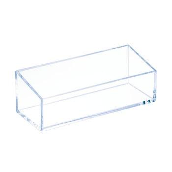 Cutie transparentă stivuibilă iDesign Clarity, 15x6cm bonami.ro