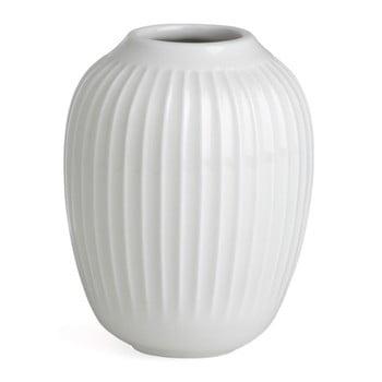Vază din gresie Kähler Design Hammershoi, alb, înălțime 10 cm poza bonami.ro