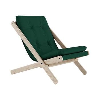 Scaun pliabil Karup Design Boogie Raw/Forest Green bonami.ro